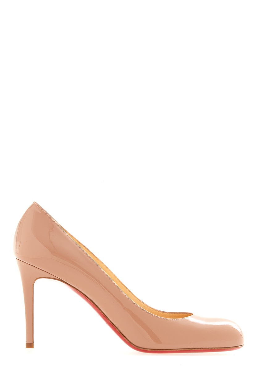 Туфли Simple pump 85 patent calf