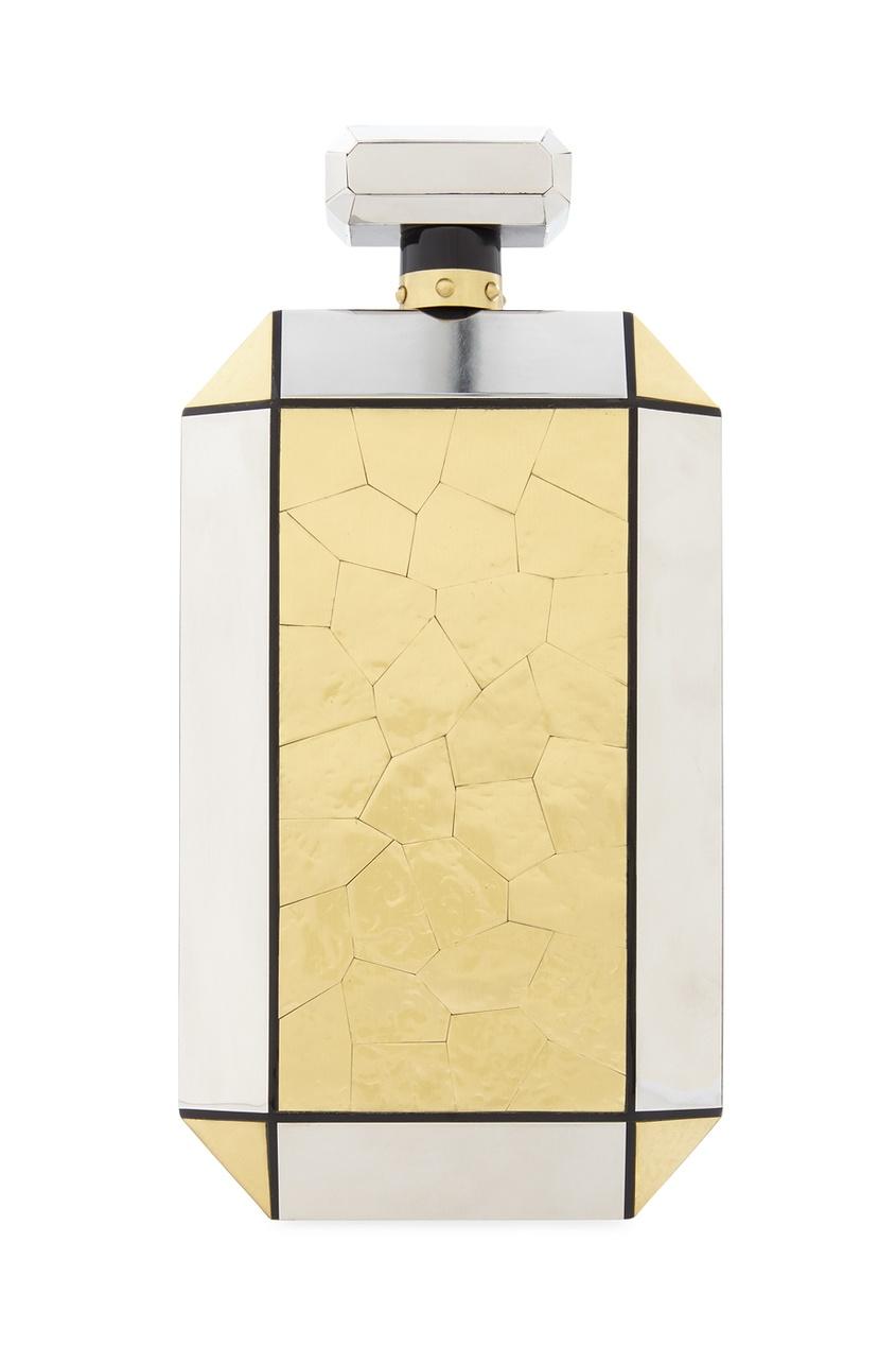Фото 2 - Клатч-минодьер Le Meurice от Emm Kuo золотого цвета