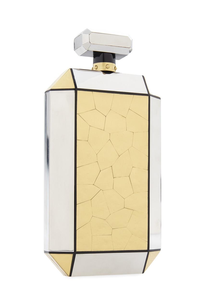 Фото 3 - Клатч-минодьер Le Meurice от Emm Kuo золотого цвета