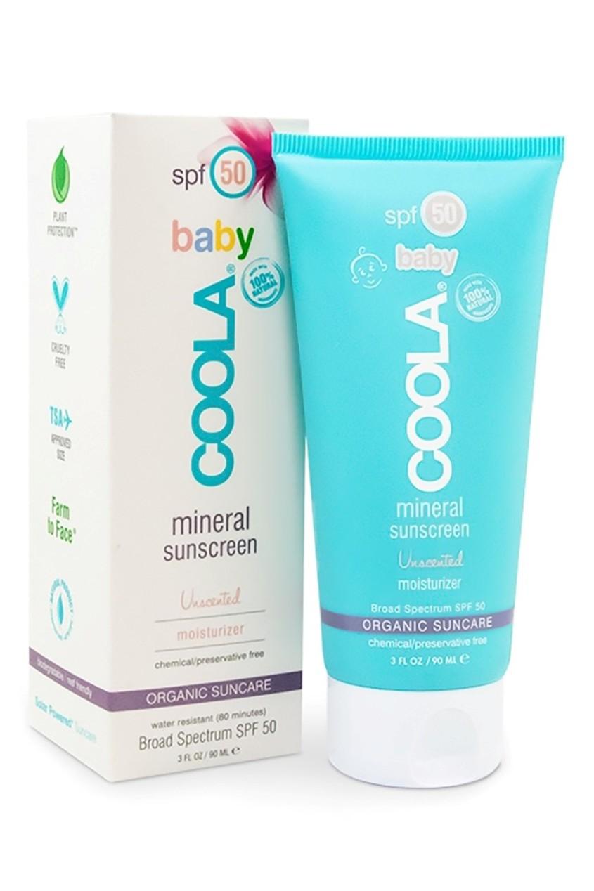 "Coola Suncare Солнцезащитный крем для лица и тела без запаха ""Baby"" SPF50 90ml"