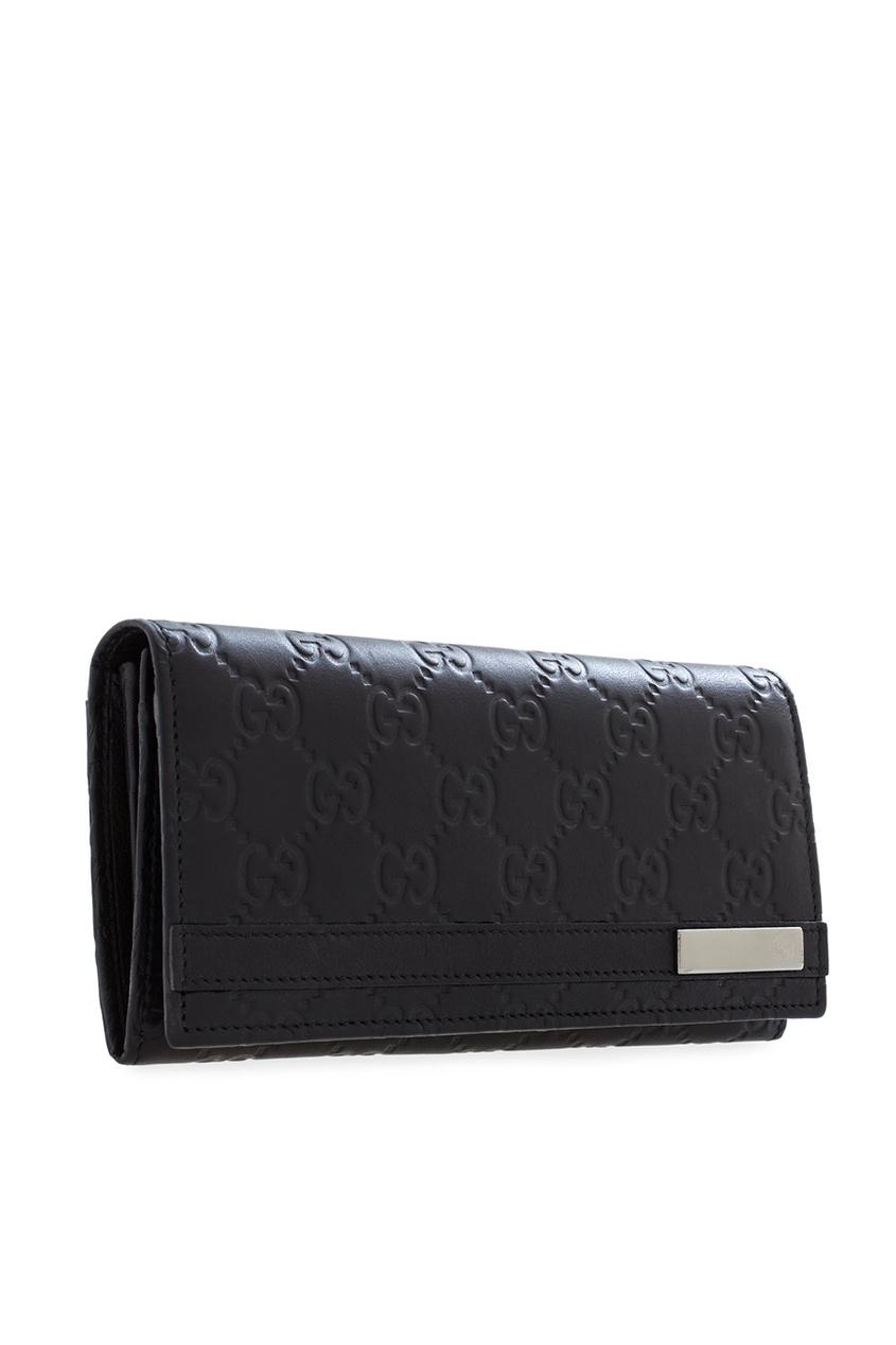 Фото 3 - Портмоне от Gucci черного цвета