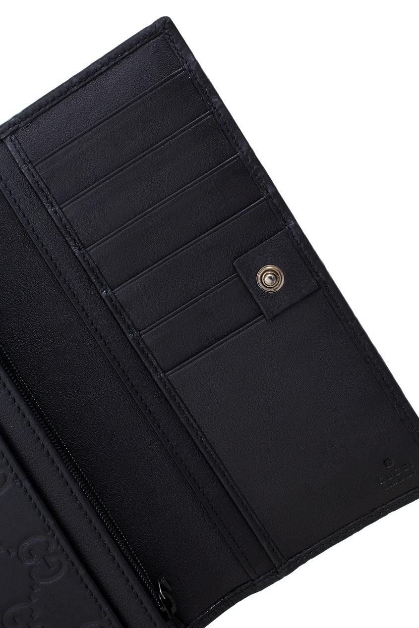 Фото 4 - Портмоне от Gucci черного цвета