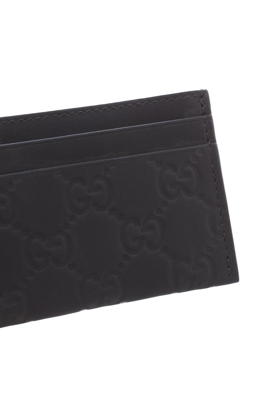 Фото 3 - Визитница от Gucci черного цвета