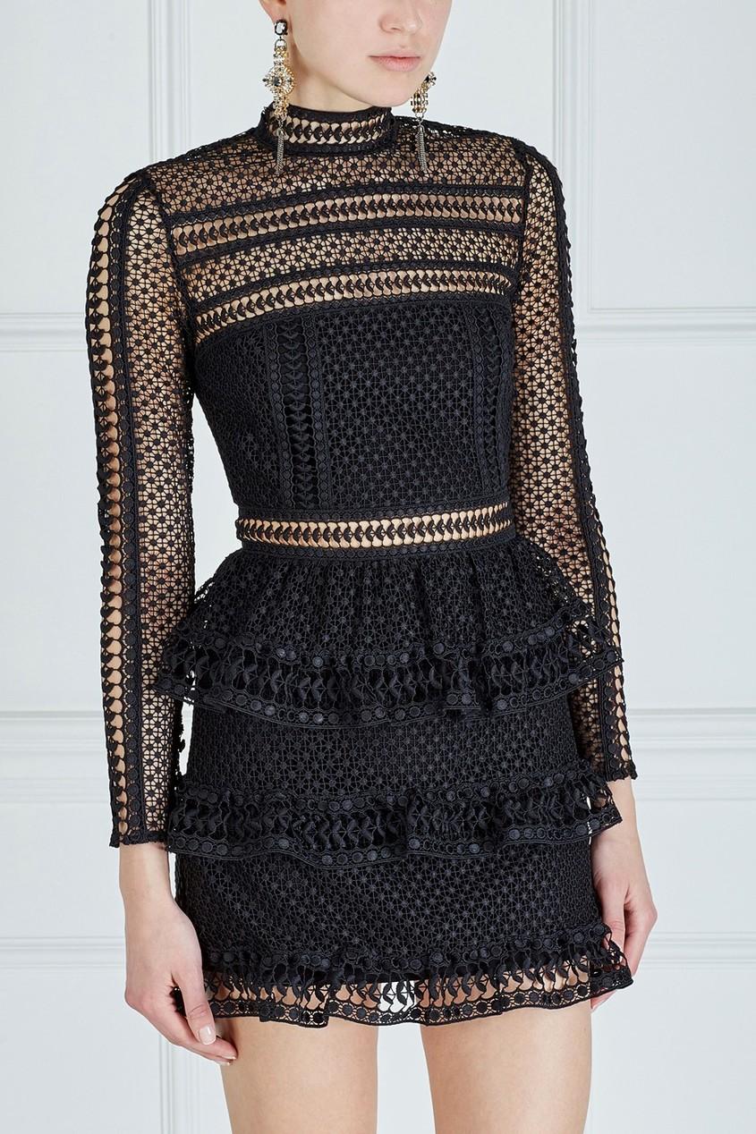 Платье High neck lace от AIZEL