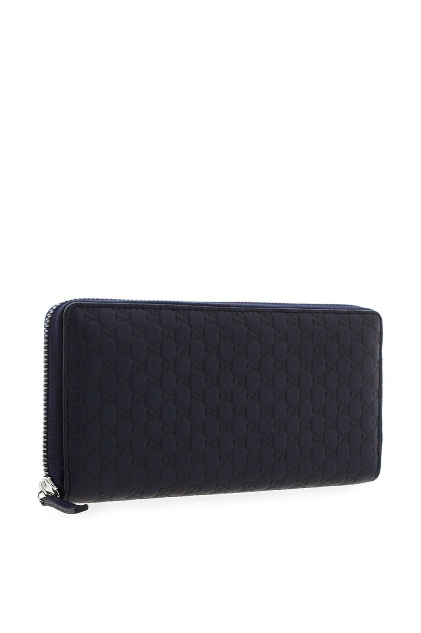 Фото 2 - Портмоне от Gucci синего цвета