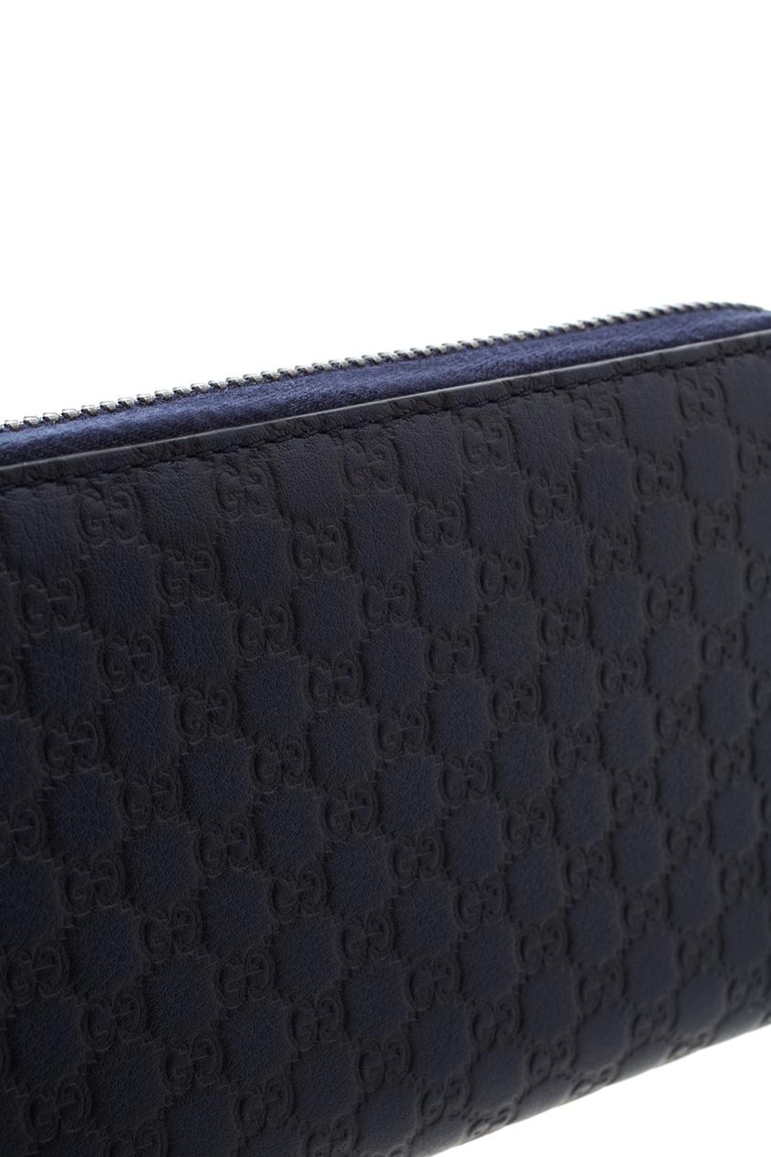 Фото 4 - Портмоне от Gucci синего цвета