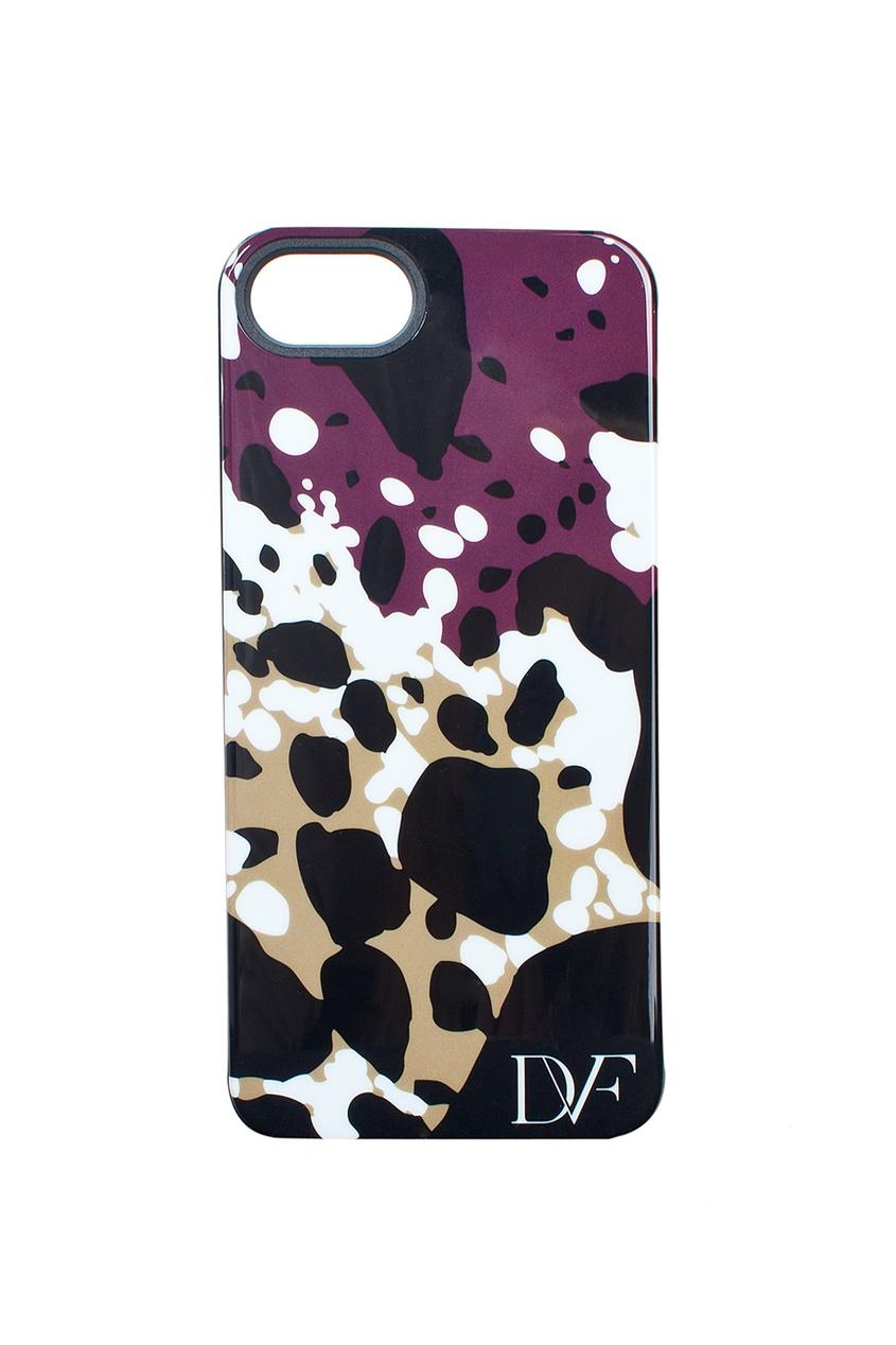 Чехол для iPhone 5 Cheetah Splash Purple