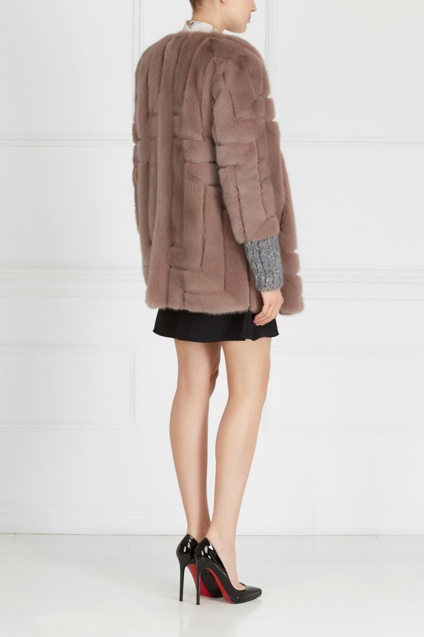 Норковое пальто «Эрика» от AIZEL