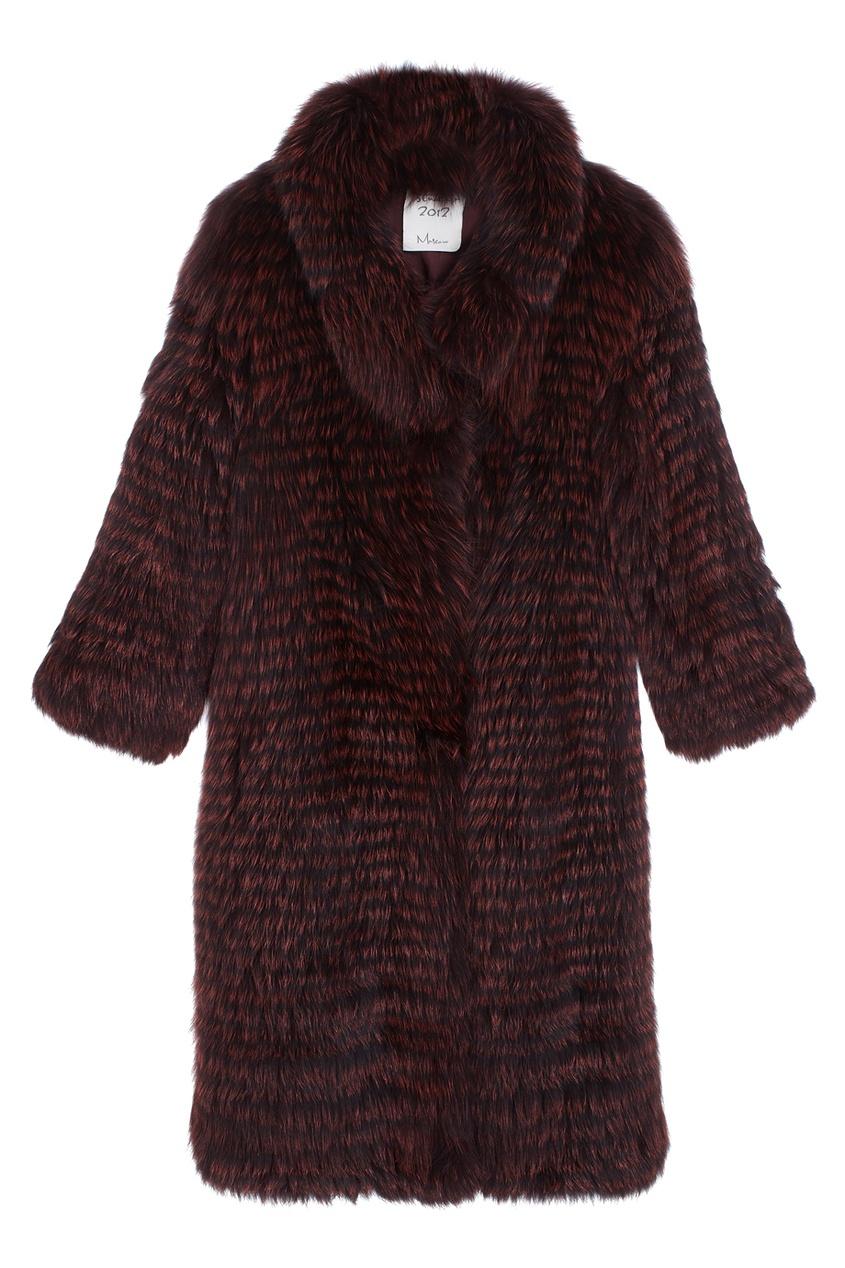 Пальто «Верона» из меха лисы