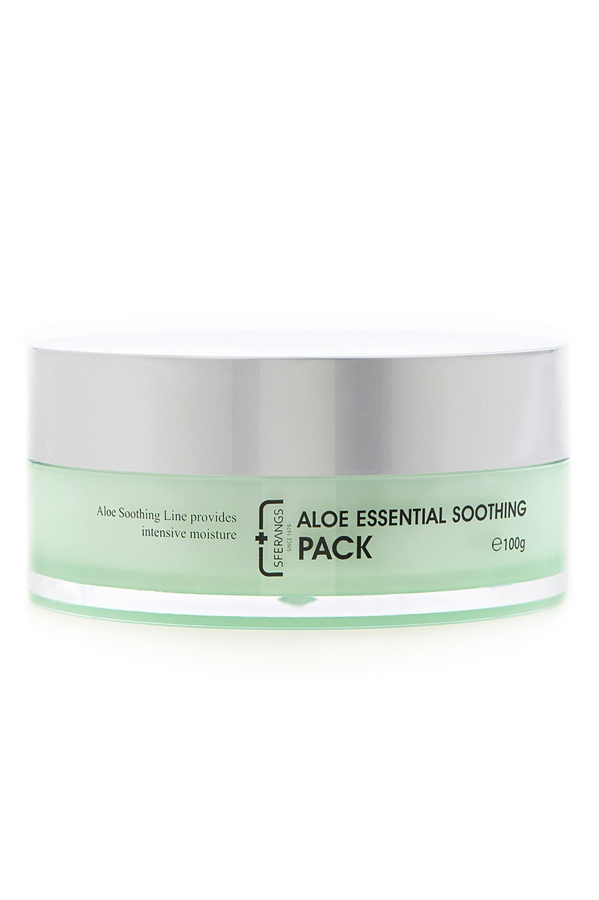 Sferangs Крем-маска для лица Aloe Essential Soothing Pack, 100ml collins essential chinese dictionary