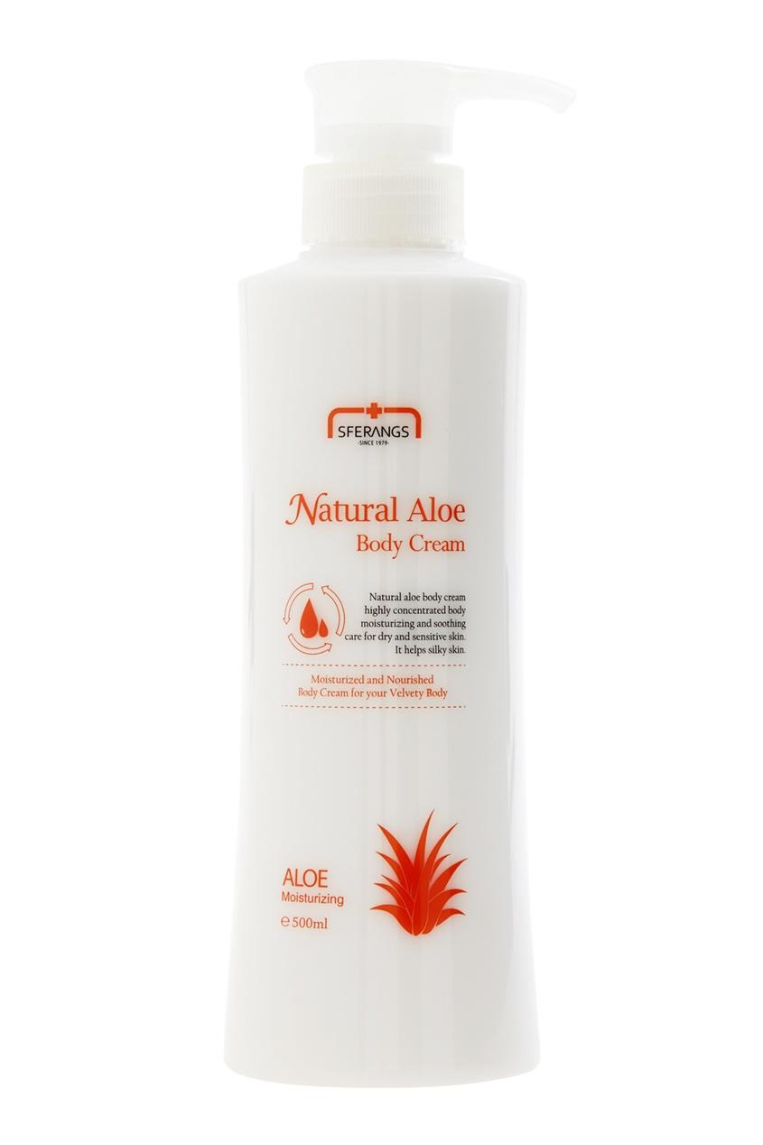 Увлажняющий крем для тела Natural Aloe, 500ml