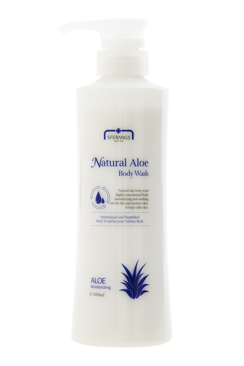 Гель для душа Natural Aloe, 500ml