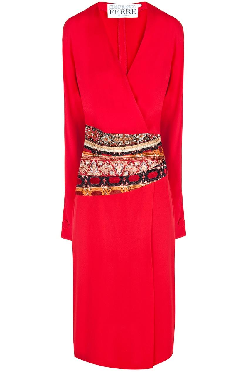 Шелковое платье 90e