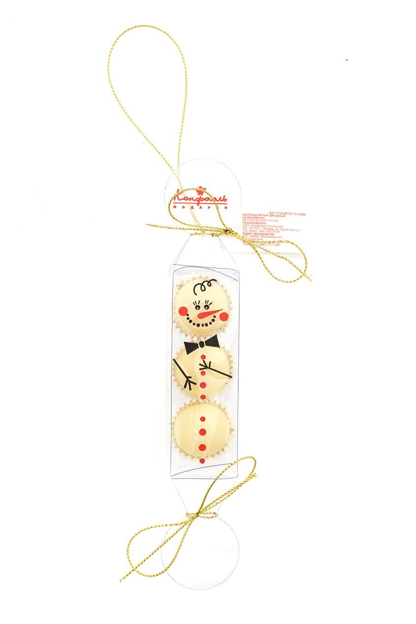 Конфаэль Елочная игрушка из белого шоколада