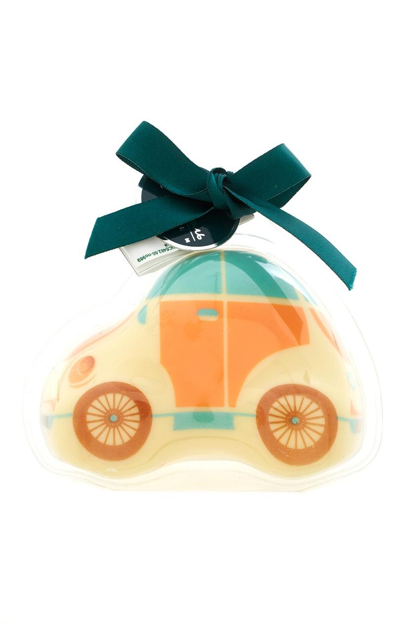 Фото - Елочная игрушка из белого шоколада от Конфаэль цвет multicolor