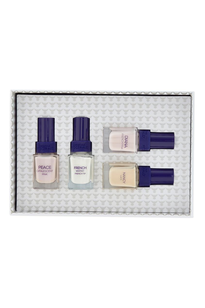 Фото 2 - Набор лаков для ногтей French от Christina Fitzgerald цвет multicolor