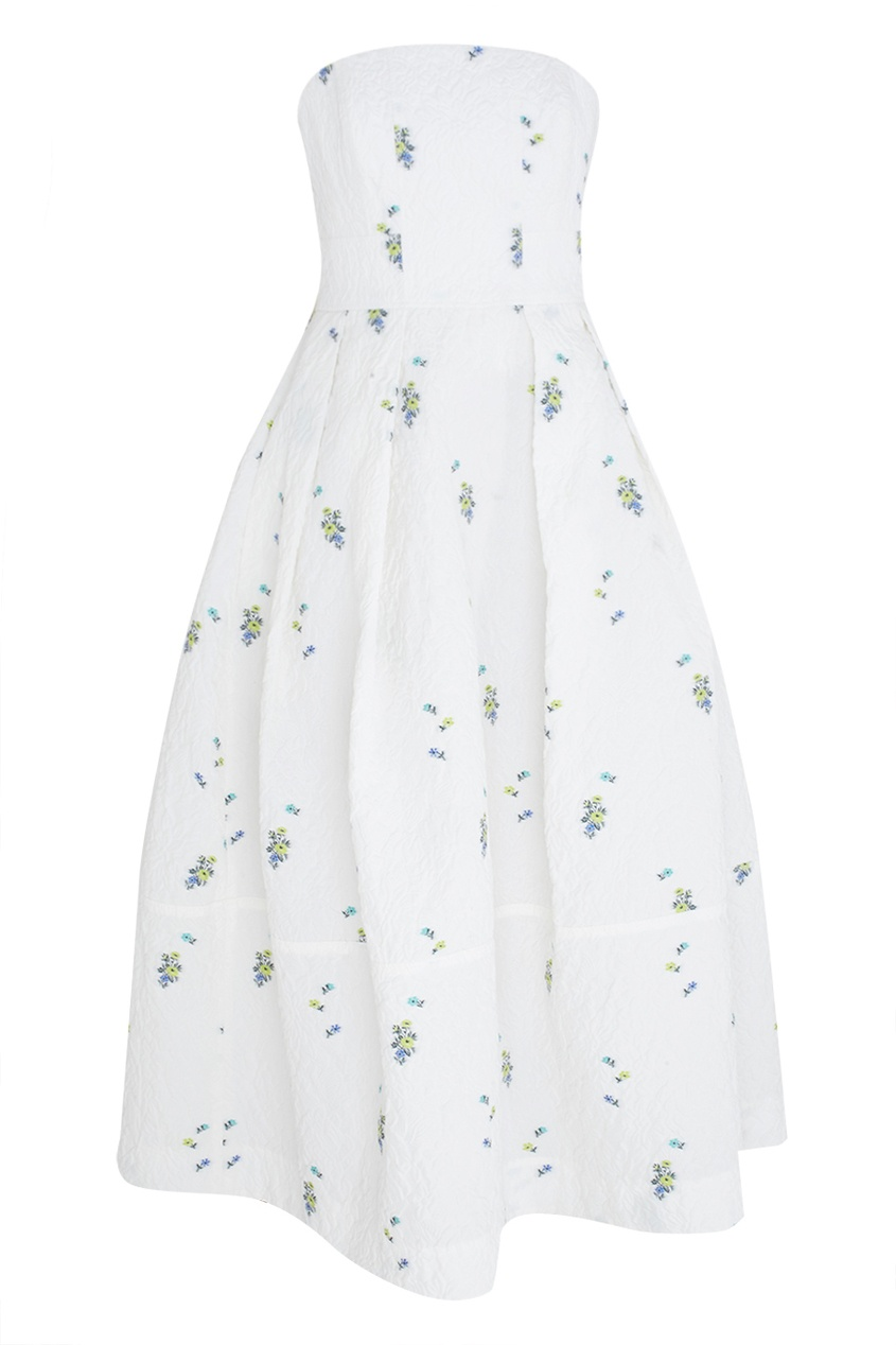 Хлопковое платье-бюстье Alina.