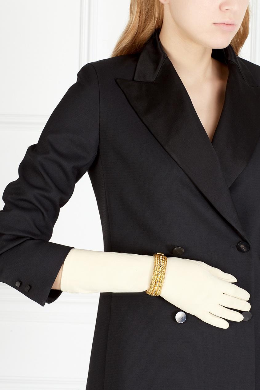Christian Dior Vintage Перчатки винтажные (60е) christian dior vintage винтажные клипсы 80 е