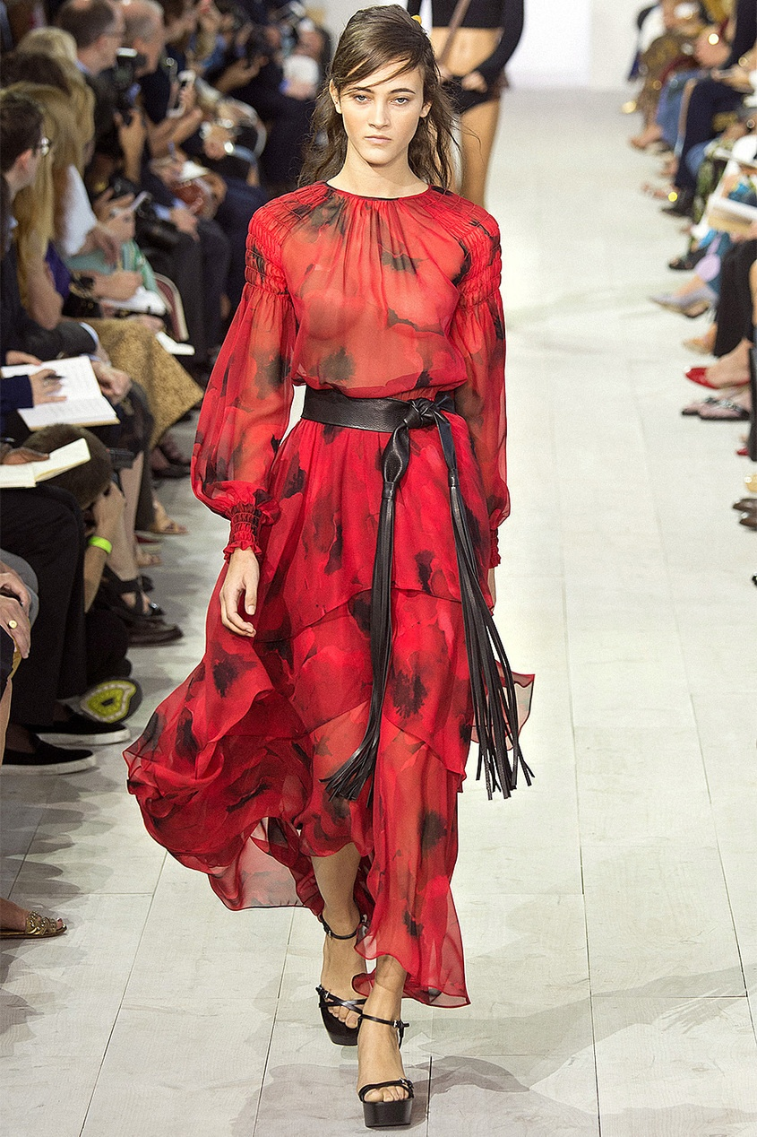 Michael Kors Collection Шелковое платье