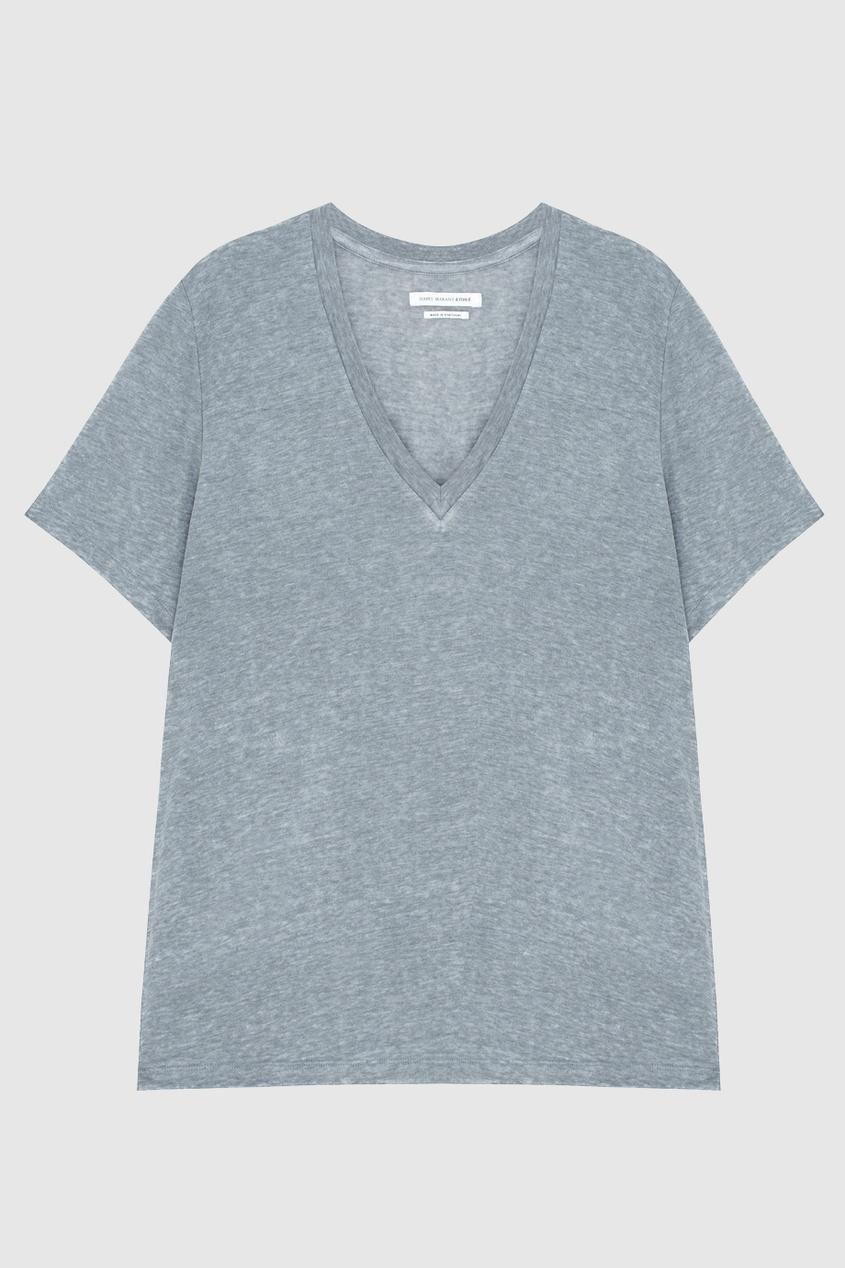Isabel Marant Etoile Однотонная футболка