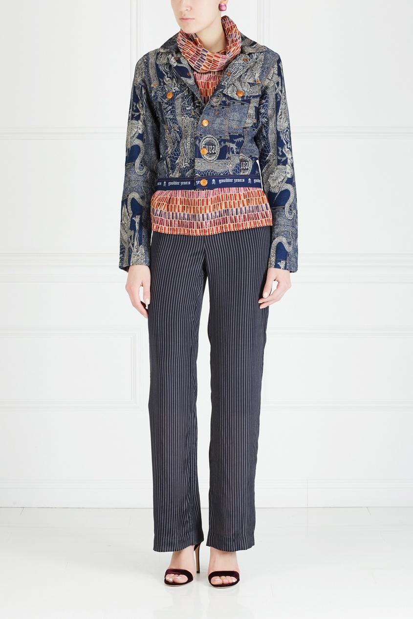 Jean Paul Gaultier Vintage Куртка из денима (90е) jean paul gaultier vintage куртка из денима 90е