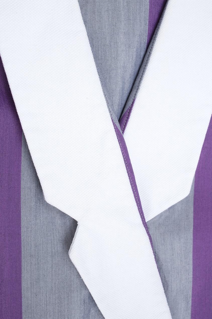 Фото 2 - Платье винтажное (80е) от Leslie Fey Vintage фиолетового цвета
