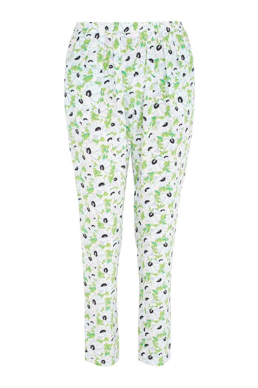 Фото - Шелковые брюки от Stella McCartney цвет multicolor