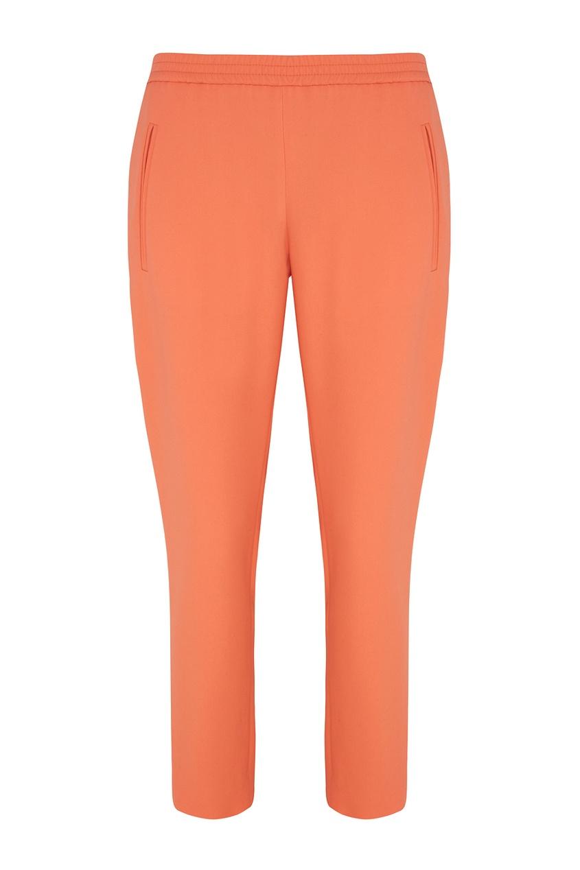 Фото - Однотонные брюки от Stella McCartney оранжевого цвета