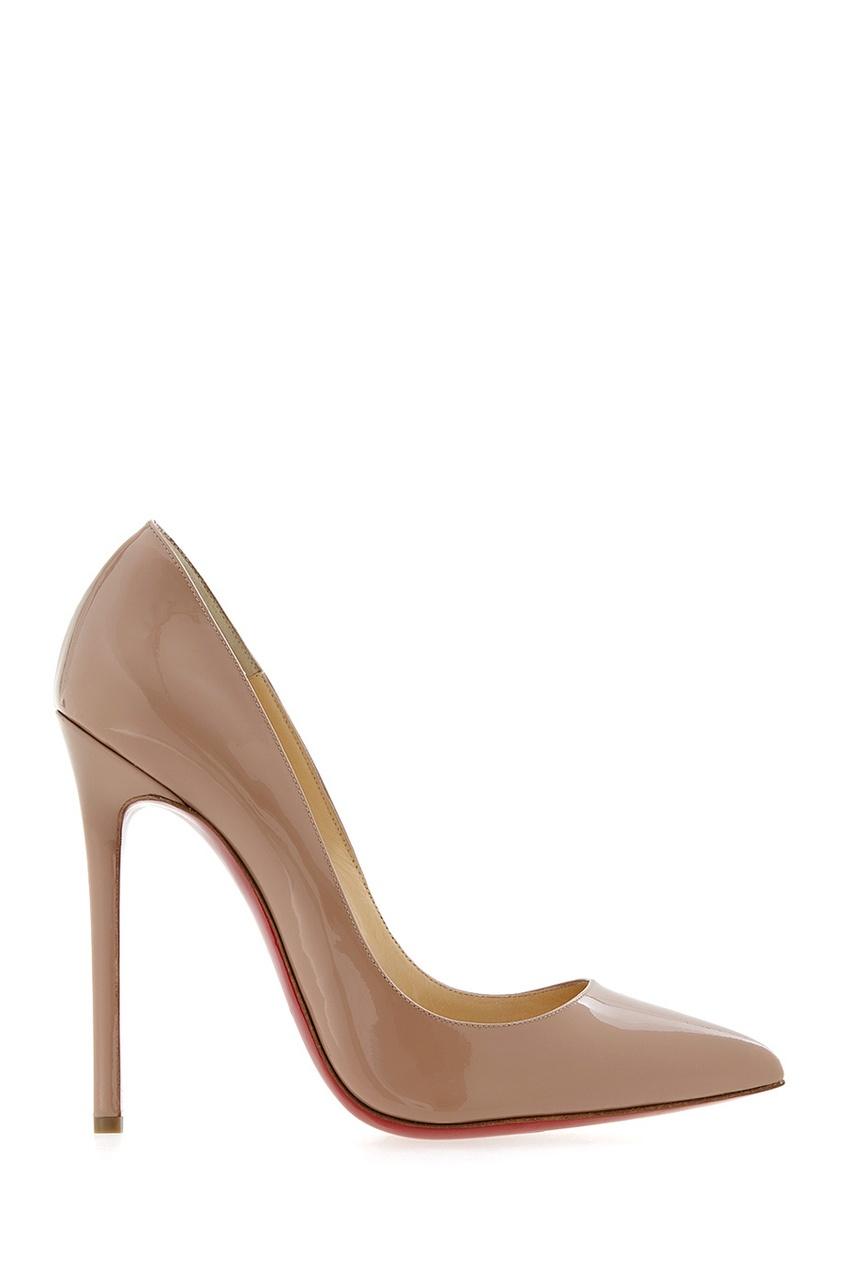 Туфли из лакированной кожи Pigalle 120