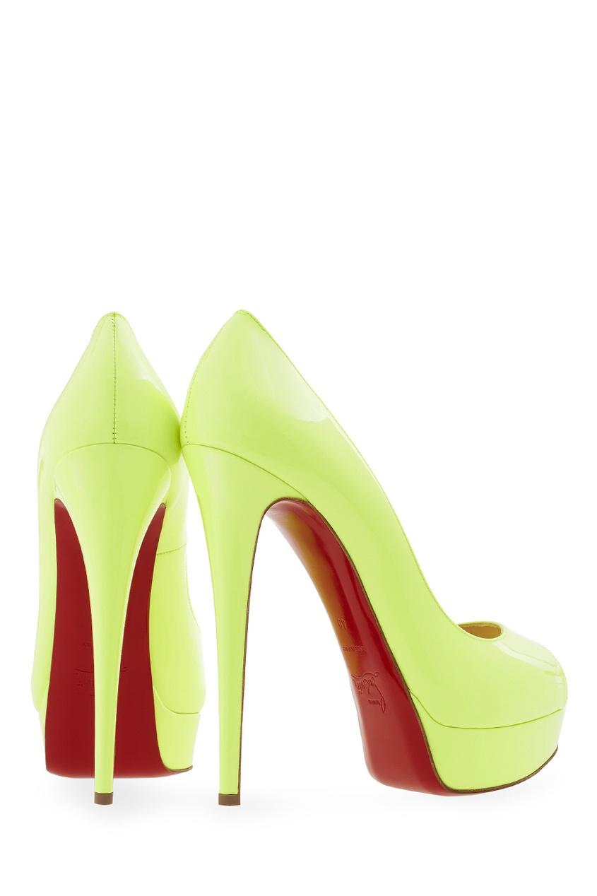 Туфли из лакированной кожи Lady Peep 150