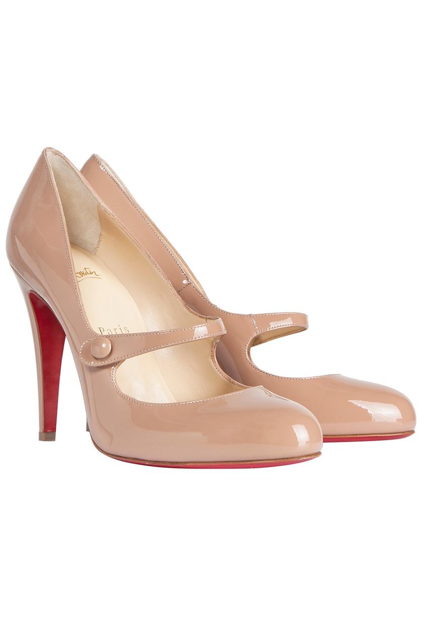 Туфли из лакированной кожи Charleen 100
