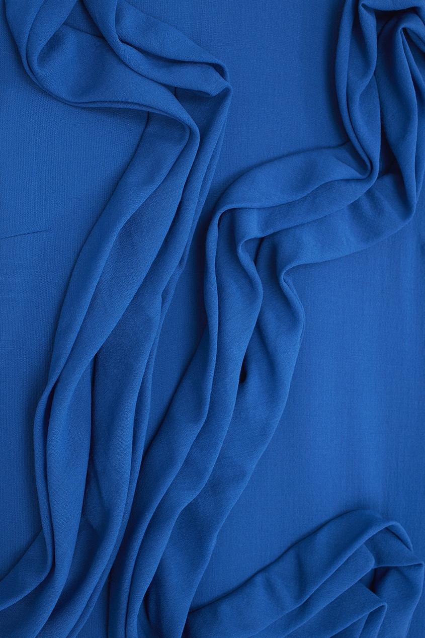 Фото 2 - Шерстяное платье от Alena Akhmadullina синего цвета