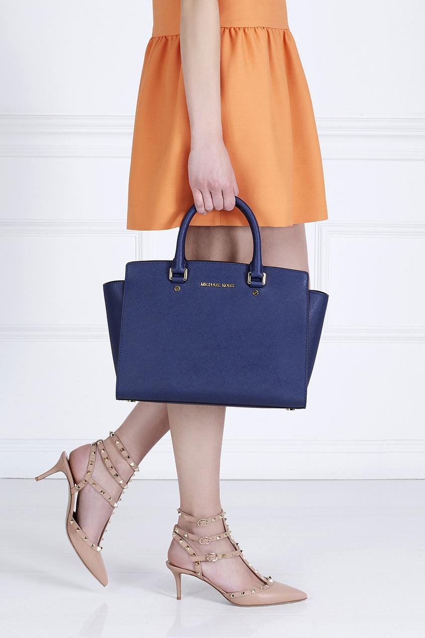 Кожаная сумка Selma