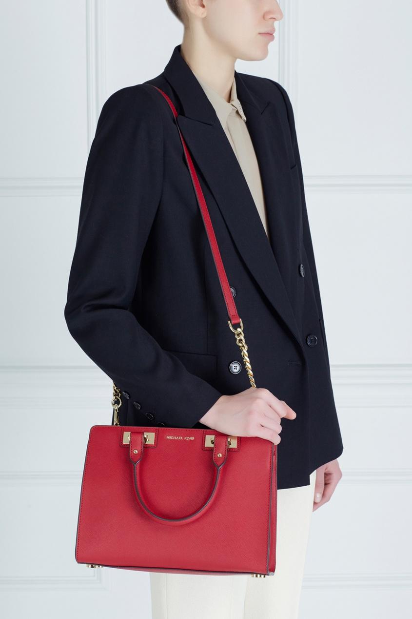 Кожаная сумка Quinn
