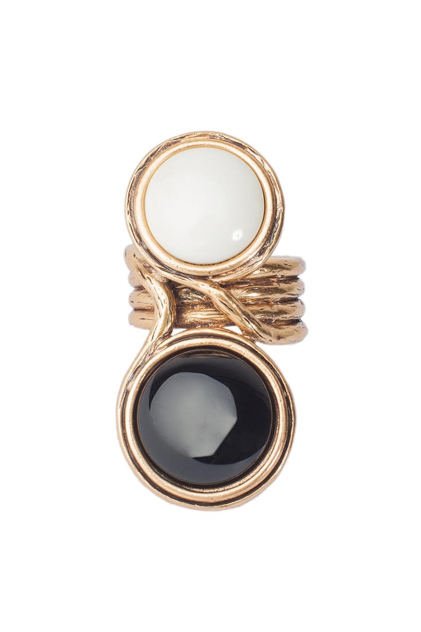 Oscar de la Renta Кольцо с кристаллами