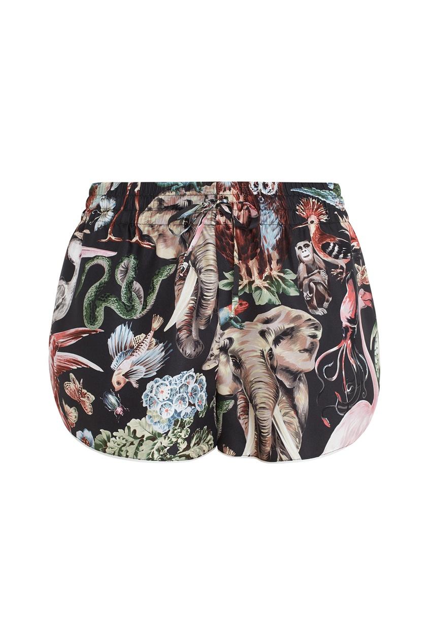 Valentino Шелковые шорты