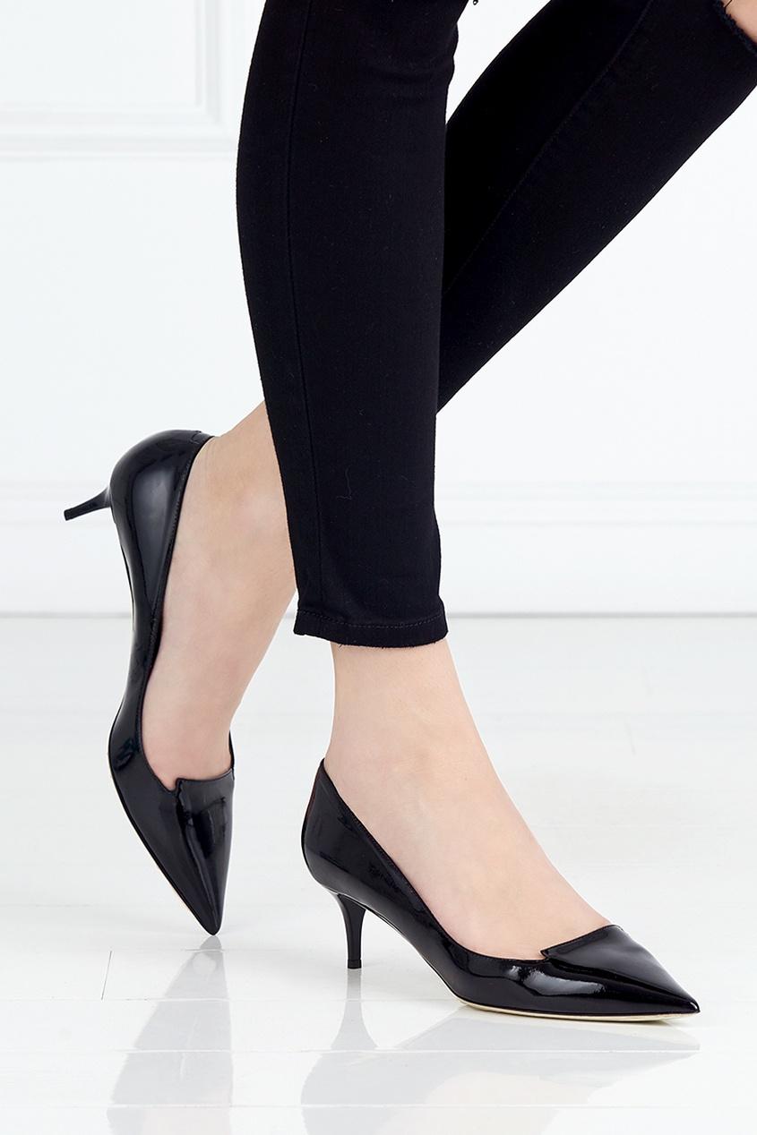 Туфли из лакированной кожи Allure