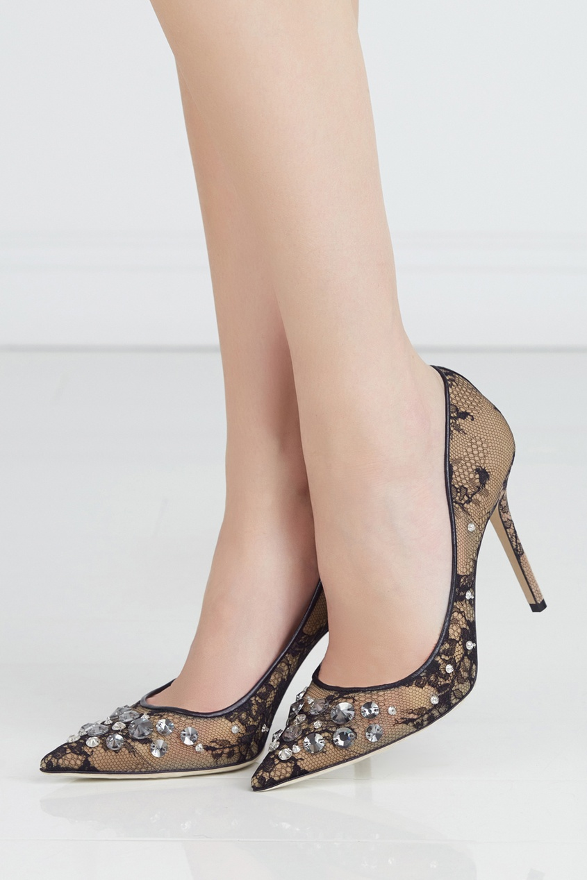 Туфли с кристаллами Lyzo