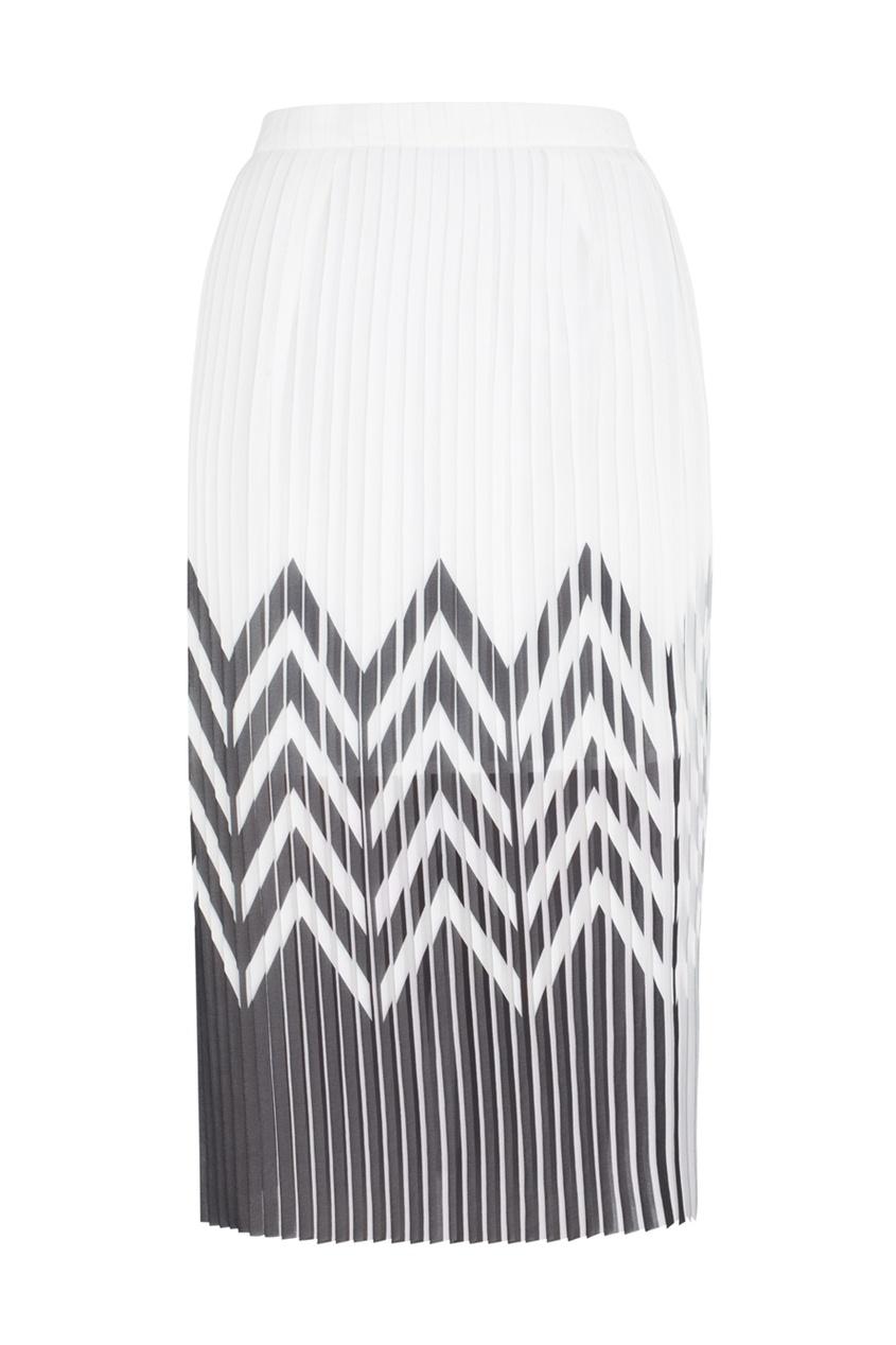Плиссированная юбка Tilt Graphic