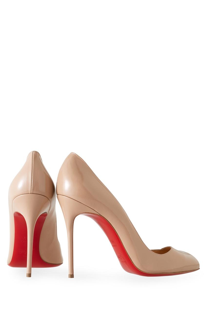 Туфли из лакированной кожи Corneille 100