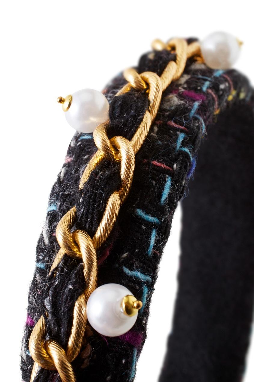 Фото 2 - Ободок для волос от Konstantin Gayday цвет multicolor