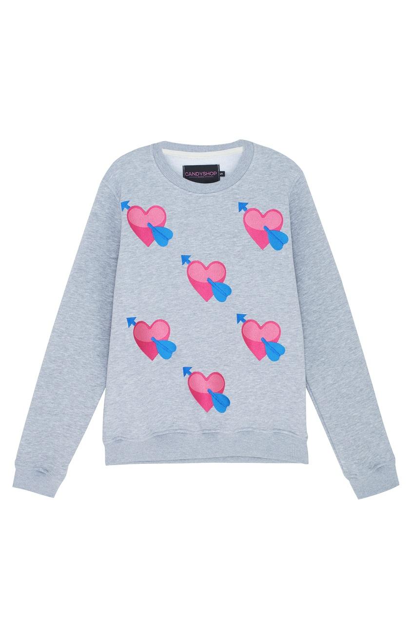 Хлопковый свитшот Valentine