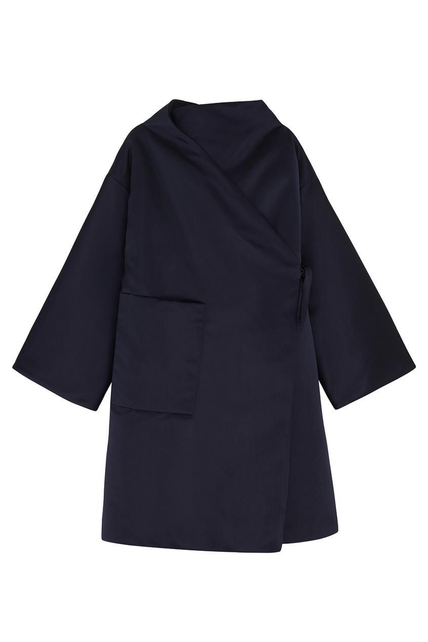Шелковое пальто