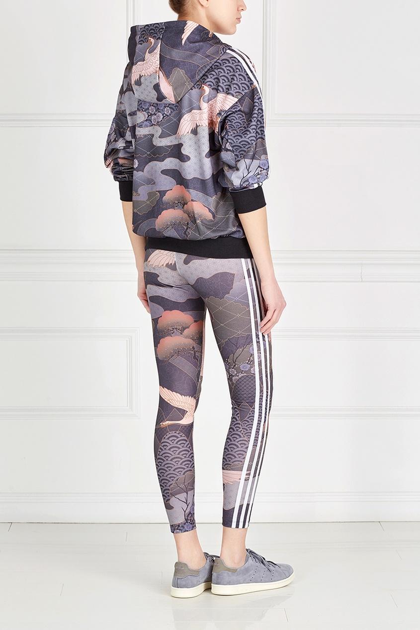 Фото 2 - Легинсы с принтом Rita Ora LEGGINGS цвет multicolor