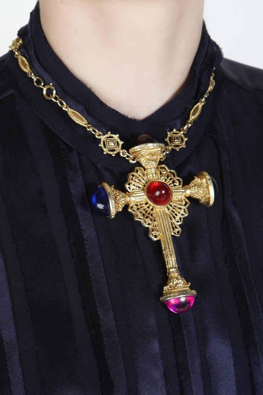 Колье с крестом (70-е)