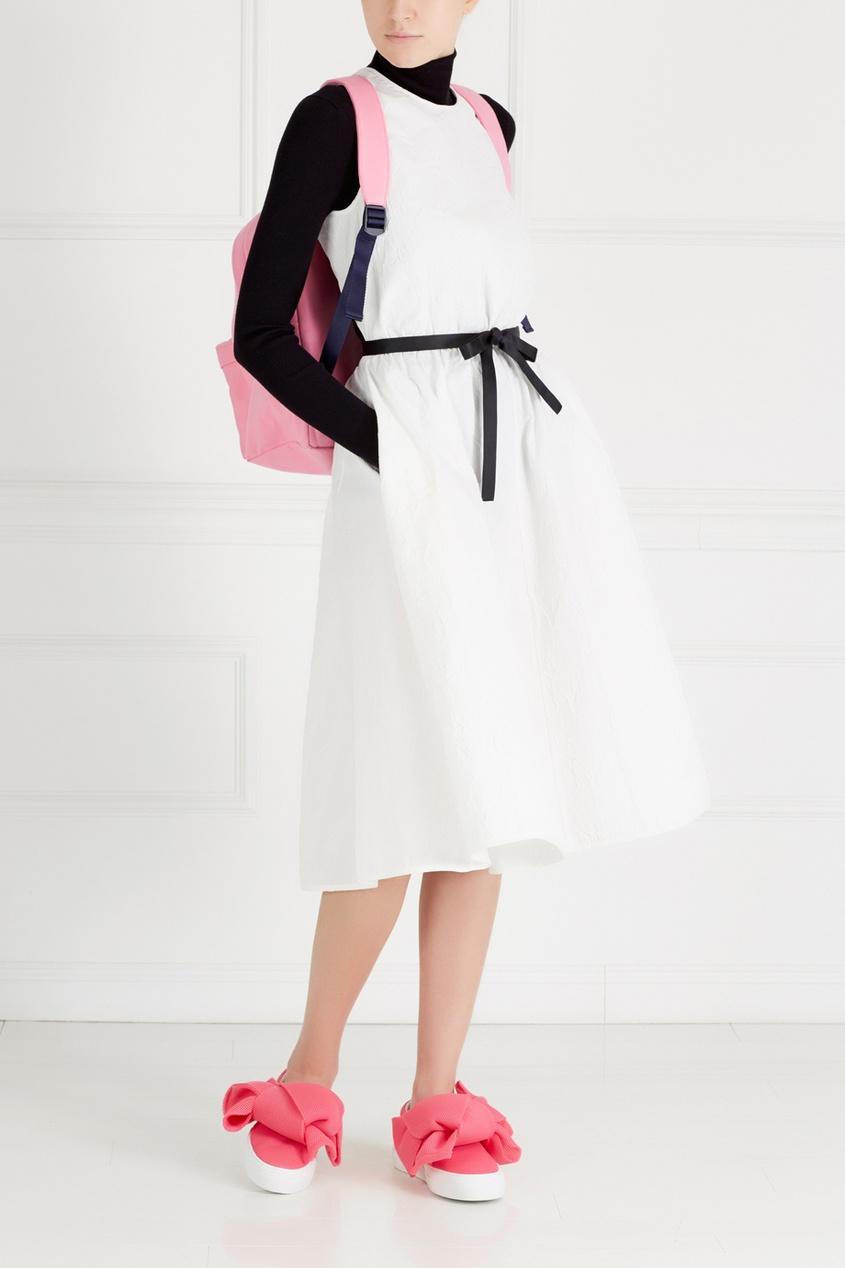 Фото - Хлопковый рюкзак от Joshua Sanders розового цвета