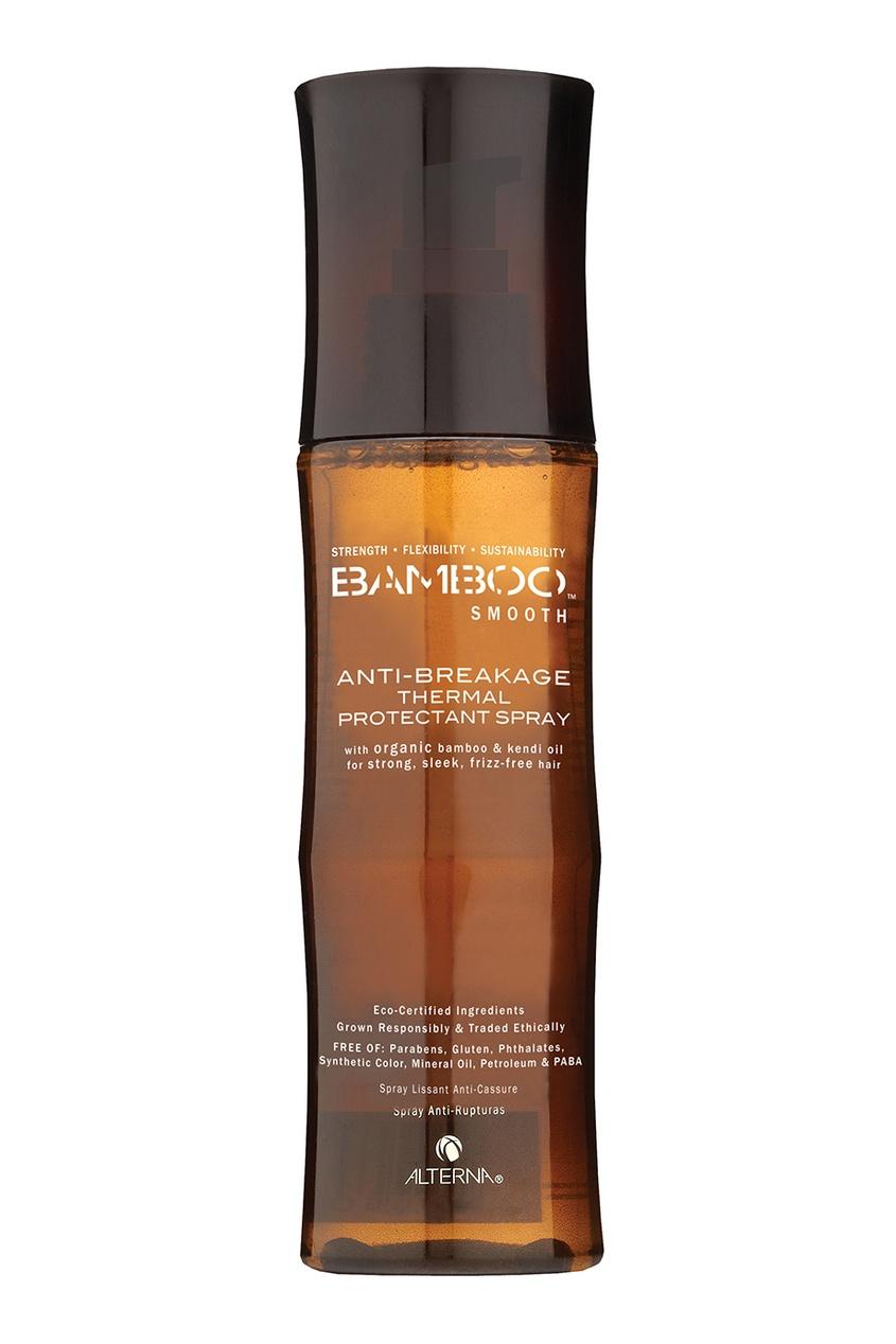 Alterna Термозащитный спрей для волос Bamboo Smooth Anti-Breakage 125ml alterna спрей блеск мгновенного действия caviar anti aging rapid repair spray 125ml