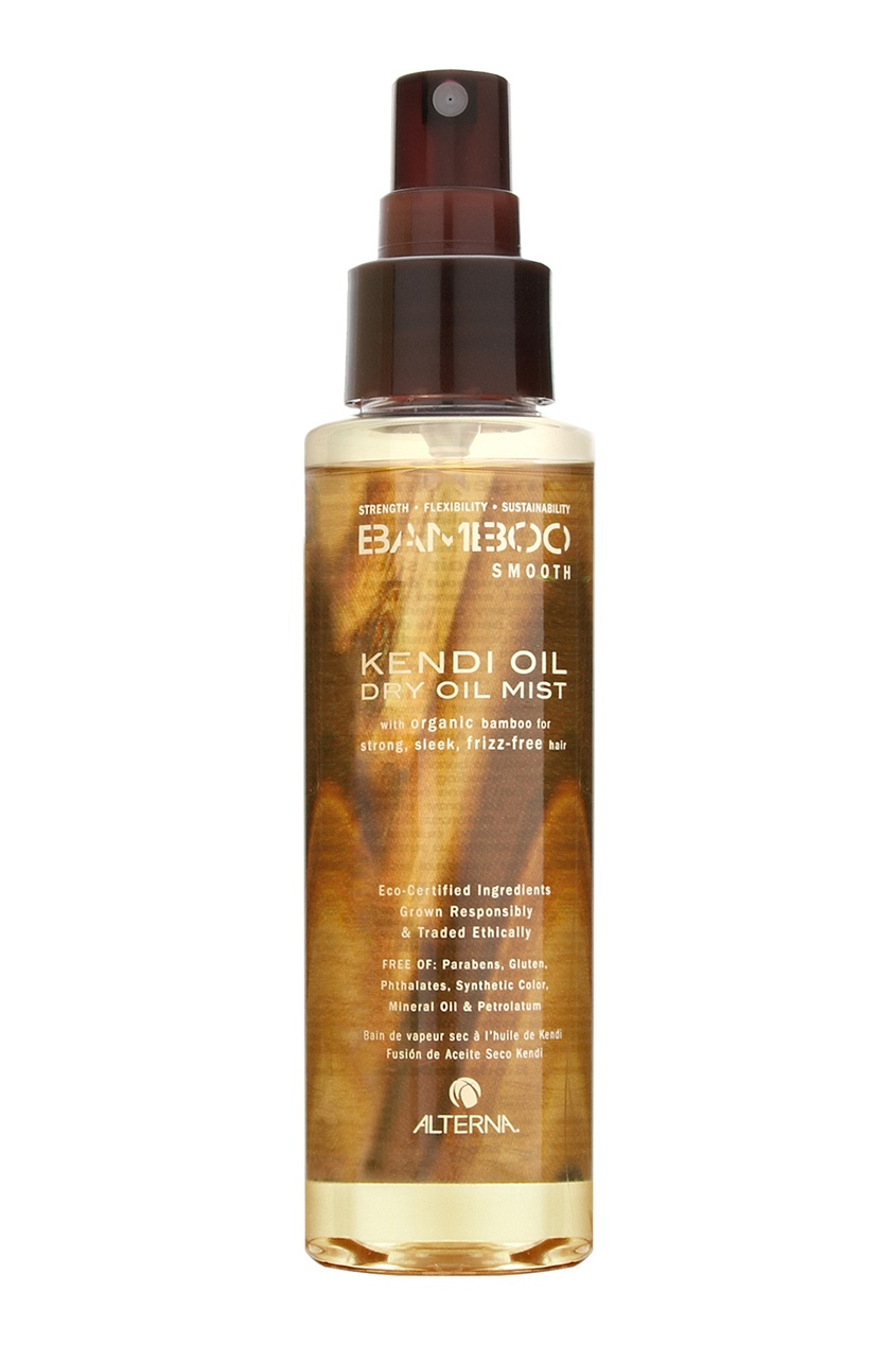 Alterna Сухое масло-спрей для волос Bamboo Smooth Kendi Dry Oil Mist 125ml alterna масло для волос bamboo smooth kendi pure treatment 50ml