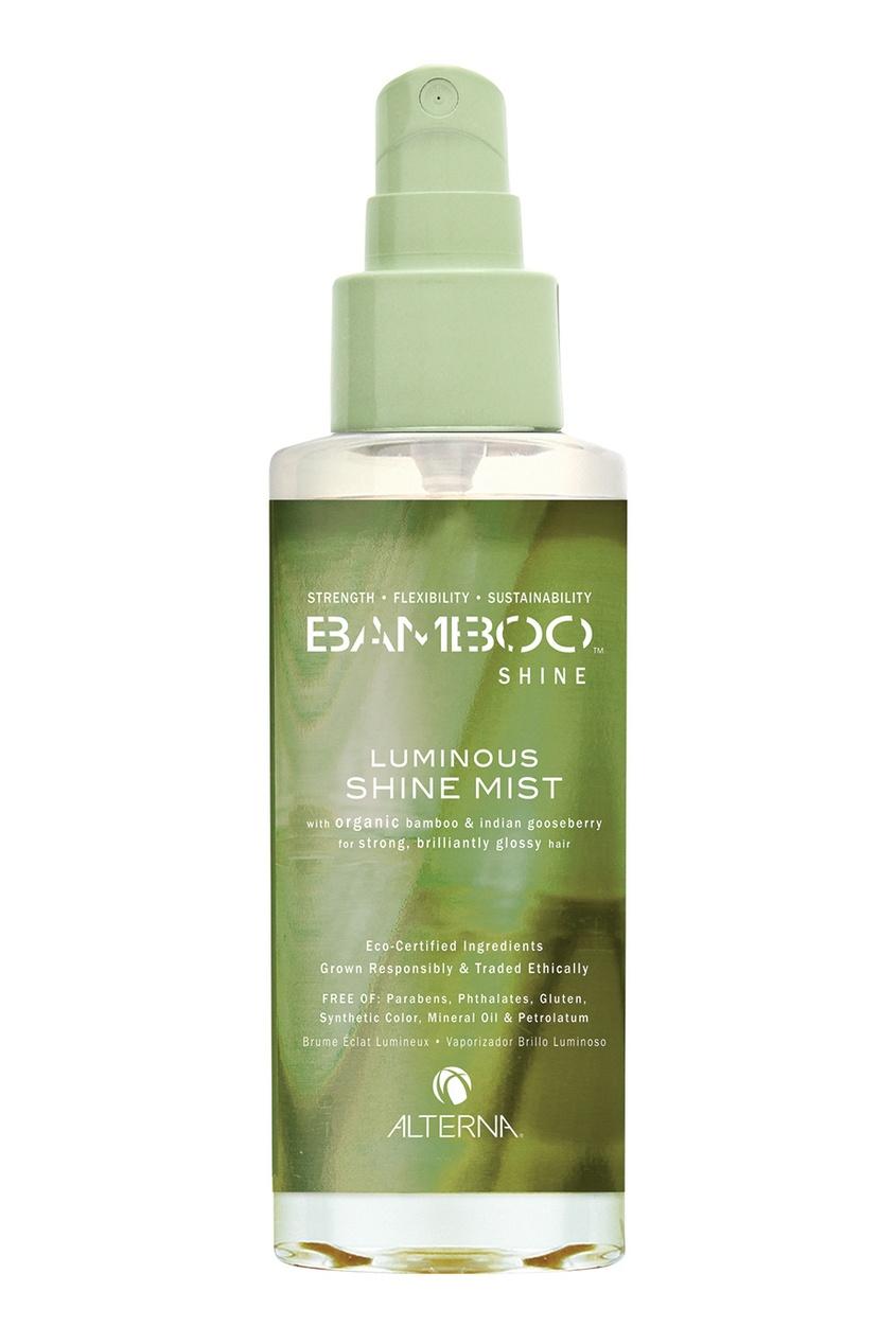Alterna Спрей-вуаль для блеска волос Bamboo Luminous Shine Mist 100ml alterna спрей вуаль для сияния и блеска волос bamboo shine 100 мл
