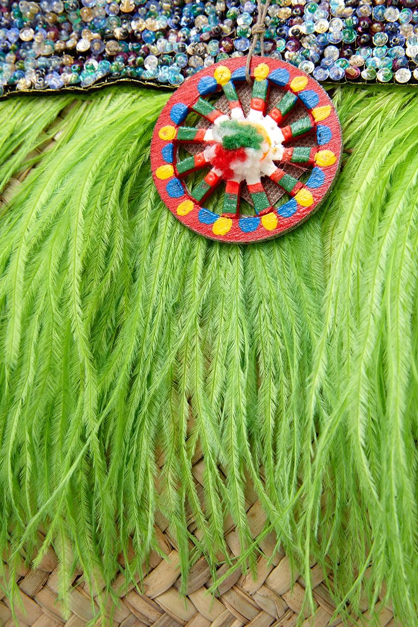 Сумка из пальмовых листьев Filicudi от AIZEL